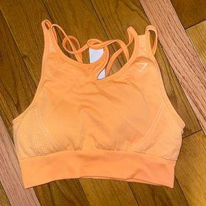 Orange GYMSHARK Sports Bra PRICE IS FIRM!!!